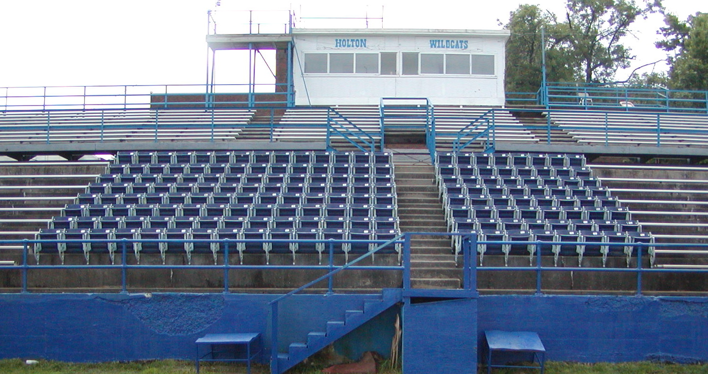 Holton High School installs S&S Seating seats - makes profit first year!