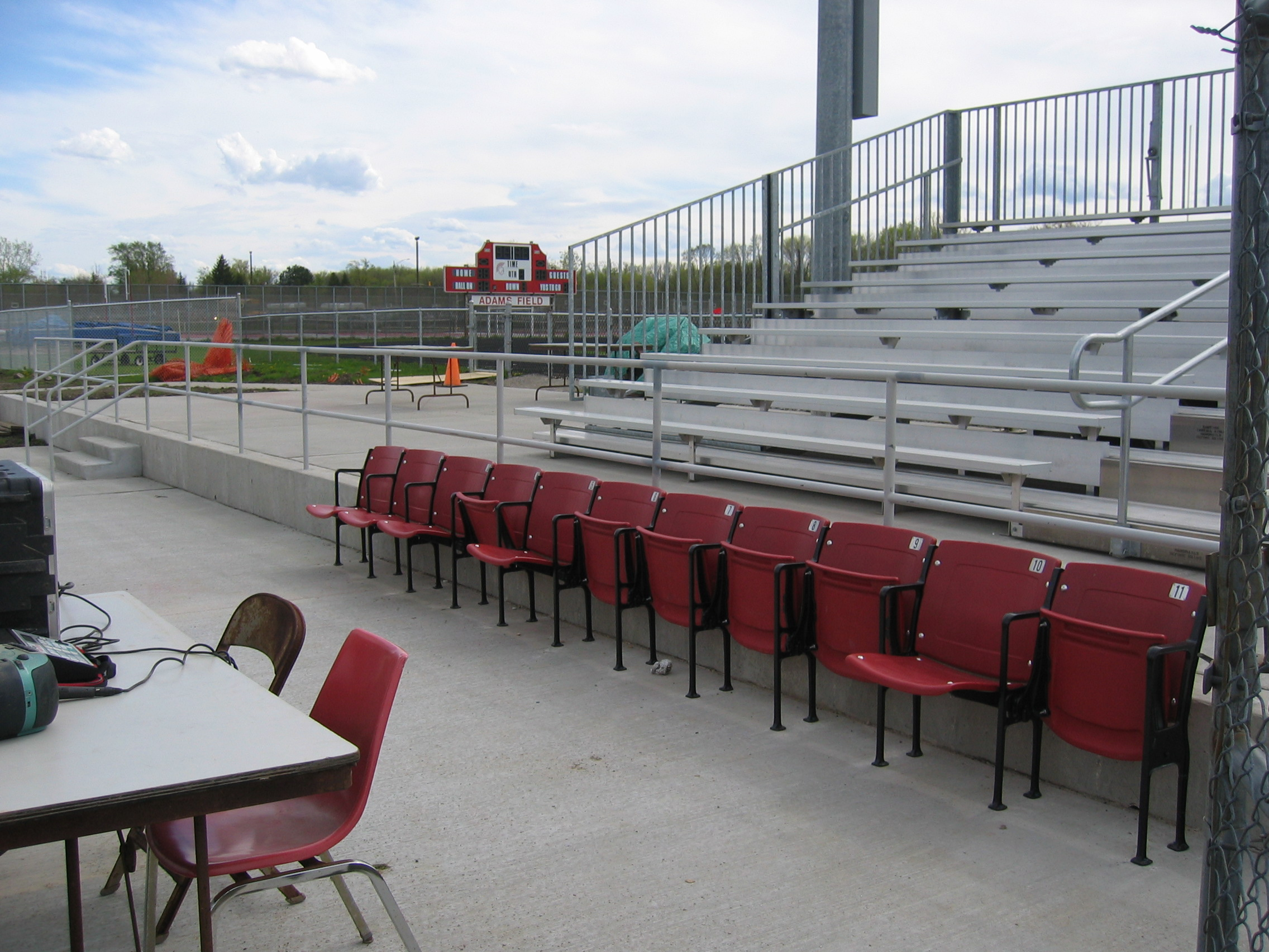 Bauer plantation chair - The Seats Really Add To The Quality Of Our Field Thank You Coach Marsh