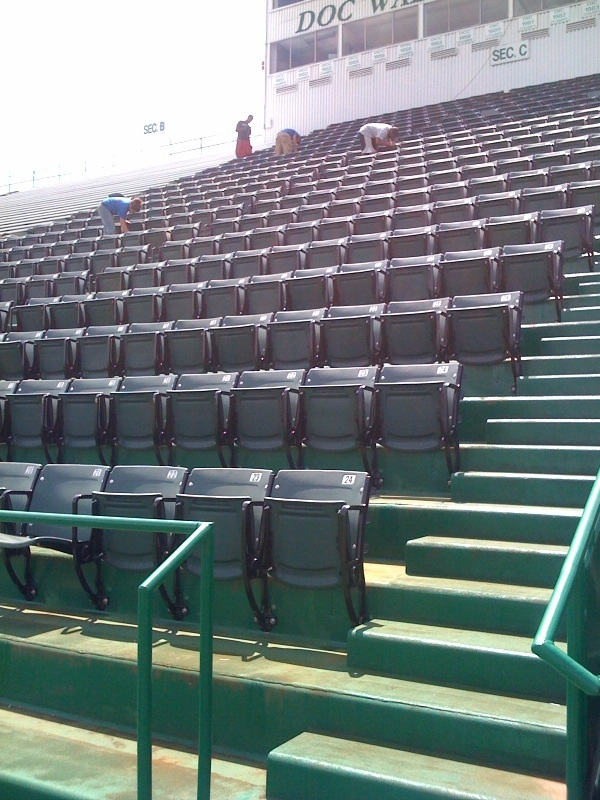 stadiumseating net: Pictures and Customer List