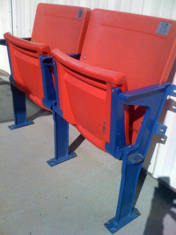 Giants Stadium - floor mount red