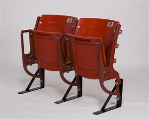 Busch Stadium Seats - red riser mount